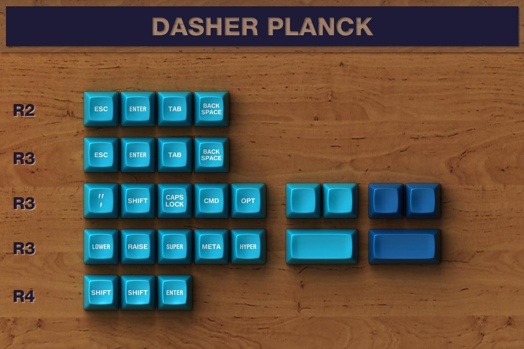 dasher sa dancer keycaps keycap planck rmb usd quantity massdrop